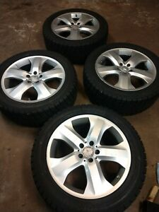 19 Mercedes Ml350 Oem Wheels Yokohama With Winter Tires Gl350 Gl550 Ml550
