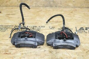 Both Rear Brembo Calipers Brake Carriers Oem Porsche 986 Boxster 996 Carrera