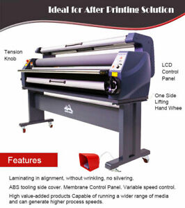 Usa 63in Large Format Cold Laminator Laminating Enhanced Version Heat Assisted