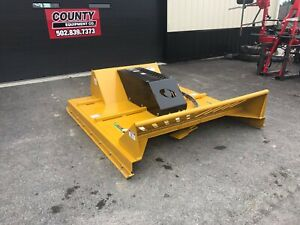 Bush whacker Ssm 72 6 Ft Skid Steer Mower 8 Cutting Capacity