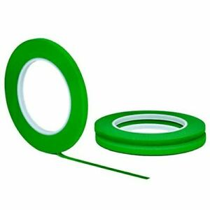 3 Pack 1 4 Inch X 60yd Stikk Green Painters Tape 14 Day Easy Removal Trim Edge