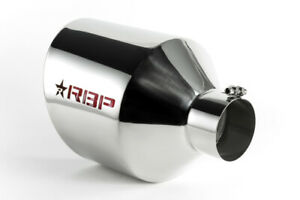 Rbp Rx 7 Magnum Edition Polished Exhaust Tip Inlet 4in Outlet 10in Length
