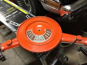 1972 440 Mopar Dodge Plymouth Dual Snorkel Air Cleaner