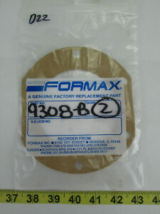 Formax Provisur Meat Patty Mold Machine Replacement Part Gaskets 9308 b Skud22