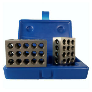 All Industrial 55502 1 2 3 Blocks With Case 23 Hole 0001 Tolerance