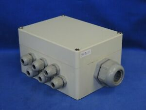 Electrical Junction Box Plastic 61 4 X 43 4 X 31 2