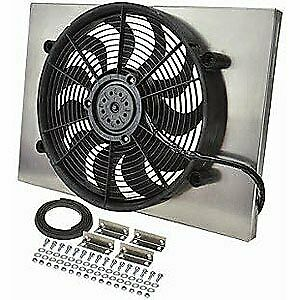 Derale 16828 Dual Speed Electric Puller Fan With Aluminum Shroud