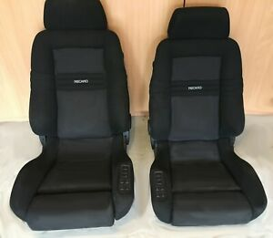 Upholstery Only Recaro Ergomed Ds Seat Cover Fabric New 2 Seats