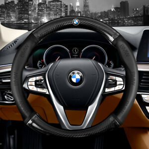 15 Car Steering Wheel Cover Genuine Leather For Bmw Good