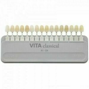 Vita Dental Instrument New Vita Classical Dental Shade Guide Ids