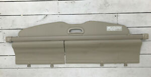 2008 2013 Toyota Highlander Rear Trunk Cargo Cover Privacy Shade Beige