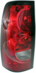 Tail Light For 2004 2006 Chevrolet Silverado 1500 Lh Fleetside Black Trim
