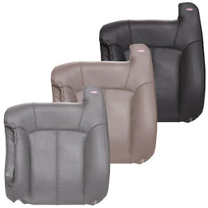 2000 2002 Chevy Silverado Front Driver Top Replacement Seat Cover Leather