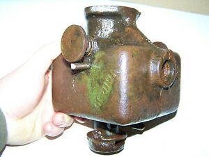 Old Fuller Johnson 3hp Kerosene Engine Mixer Hit Miss Type Steam Tractor Wow