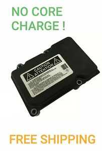 Remanufactured 2007 2008 2009 Toyota Camry Abs Pump Control Module 07 08 09