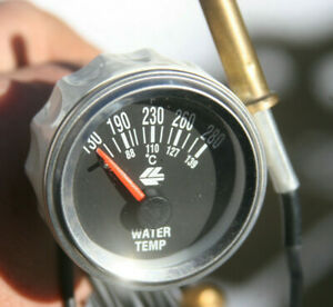 Simple Mechanical 2 1 16 Water Temperature Vintage Gauge