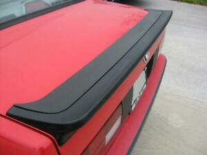 Fit 85 91 Bmw E30 3 series Mtech 1 Style Rear Trunk Spoiler Wing Abs Plastic