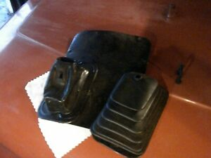 Jeep Wrangler Yj 87 95 Automatic Shift Boot Cover W Floor Plate Nice Shape