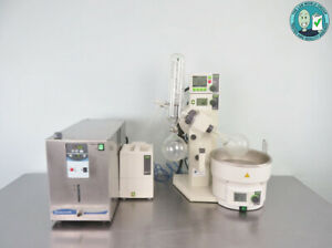 Buchi R 215 Rotary Evaporator With Chiller And Warranty