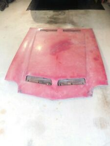 1971 1972 Gto Judge Lemans Ram Air Hood Endura T 41 455 Ho Original Round Port