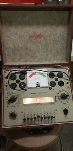 Heathkit Tc 2p No 355 Tv Picture Tube Tester In Working Condition Case Manuals