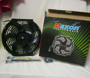 New Maxon Performance 12v 80w Car Cooling Fan
