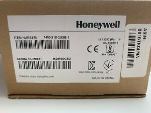 New In Box Honeywell Voyager 1450g1d 2usb Barcode Scanner
