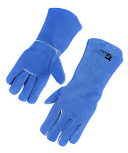 Welding Gloves Heat Resistant Cow Split Leather Bbq camping cooking Gloves