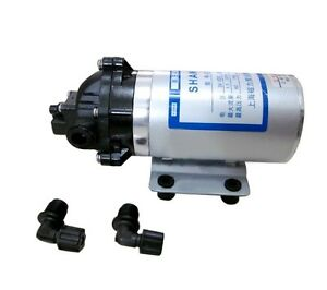 12v Mini Diaphragm Pump Boost Househould Water And Seawater Desalt On The Boat