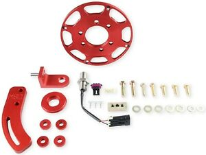 Msd Ignition 86101 Flying Magnet Crank Trigger Kit Small Block Chevy 7 In Trigg