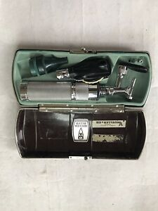 Vintage Welch Allyn Diagnostic Set Otoscope Ophthalmoscope