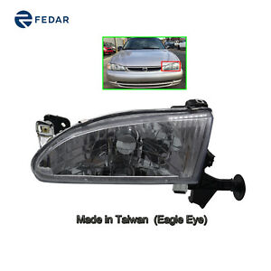 Headlight Lamp Fit 1998 1999 2000 Toyota Corolla Pair Driver Side Left