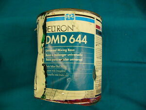 Ppg Deltron Dmd644 Universal Mixing Base Indo Yellow red Shade 1 Gal