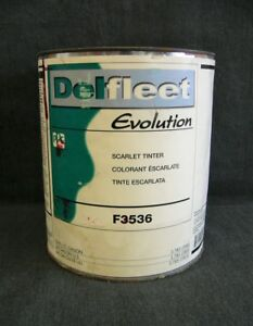 Ppg Delfeet Evolution Scarlet Tinter F3536 1 Gallon Paint Tint