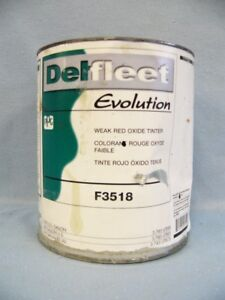 Delfleet Evolution Weak Red Oxide Tinter F3518 1 Gallon Paint Tint