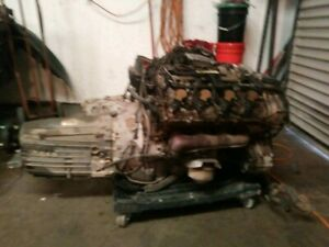 2007 Cls550 Complete Engine And Transmission Rwd Oem