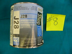 Ppg Paint Tint Shop Line J28 Red Shade Yellow Mixing Base 1 Qt 8