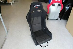 Bride Style Vios Iii Full Bucket Fixed Back Racing Seat Black Sparkle Shell