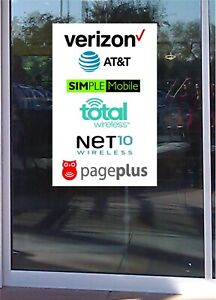Banner Cell Phone Sales Window Business Advertising Sales Professional