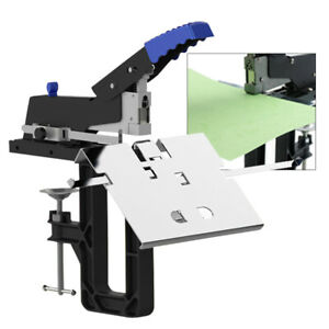 Multifunction Manual Dual Flat Nail Saddle Stitch Stapler Binding Machine Binder