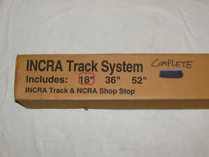 Incra Track System 18 New In Box Includes Incra Shop Stop
