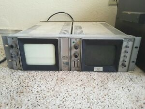 Tektronix Type 528 Waveform Monitor 1420 Ntsc Vectorscope Turns On Rack
