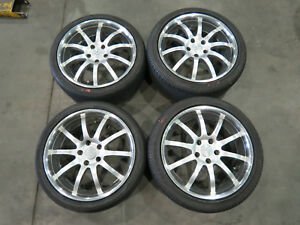 Jdm Rays Sport Technic Staggered Wheels 18x7 5 18x8 5 45 Rims Mags 5x114 3