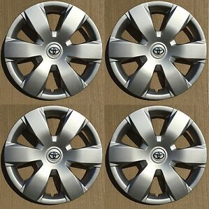 Set Of 4 16 Hubcaps Wheelcovers Fits Toyota