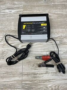 Schumacher Electric Speed Charge Battery Charger Sc 600a 6v 12v