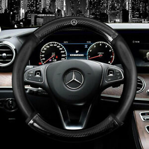 15 Car Steering Wheel Cover Genuine Leather For Mercedes benz Good