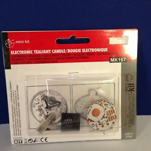 Velleman Kit Electronic Tealight Candle mk167 New
