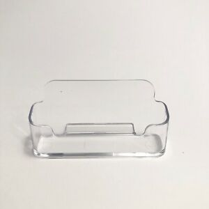 Clear Acrylic Plastic Business Card Holder Lot Of 70