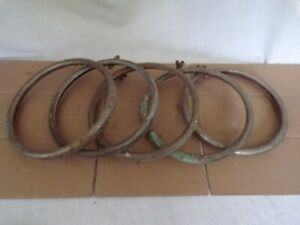 ford Model A Headlight Rings Lot Of 5 1920 early30s Rat Rod Hot Rod Jalopy