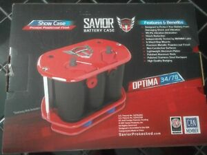 Savior Products Sc O34 R Pc O34 R 34 Red Optima Battery Tray Case Pro Case